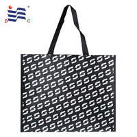 Promotional eco friendly matt double laminated pp non woven shopping tote bag