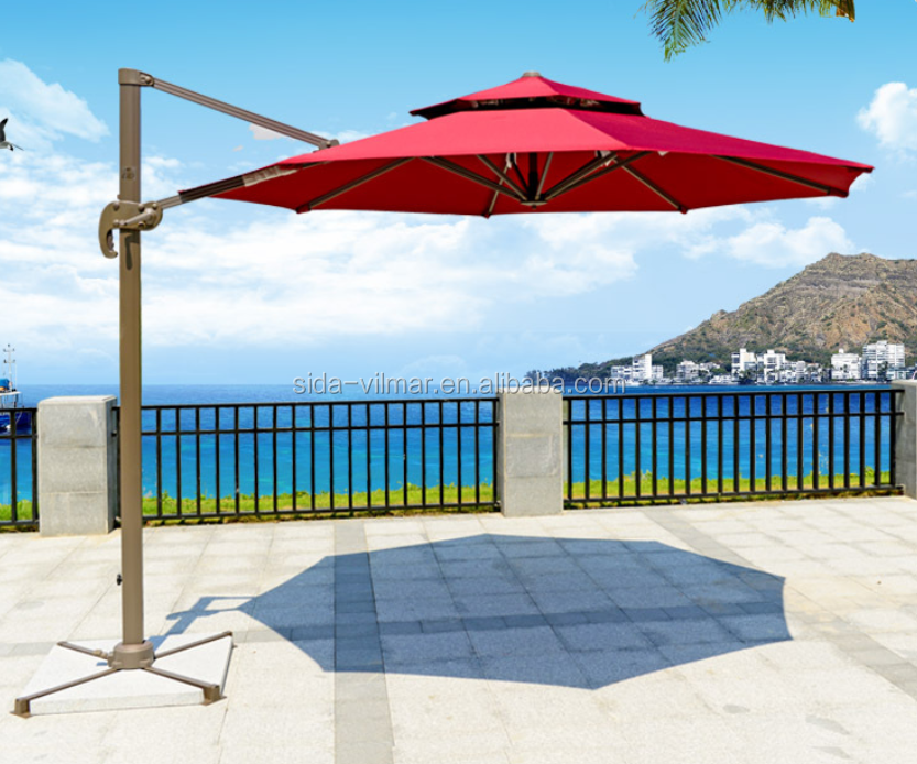 100 Square Cantilever Patio Umbrella Outdoor U0026 Garden