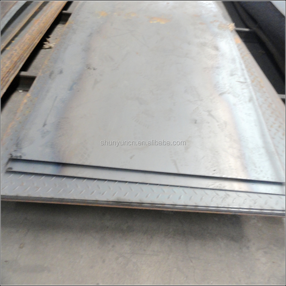 Hot rolled floor plate MS carbon steel checkered sheet