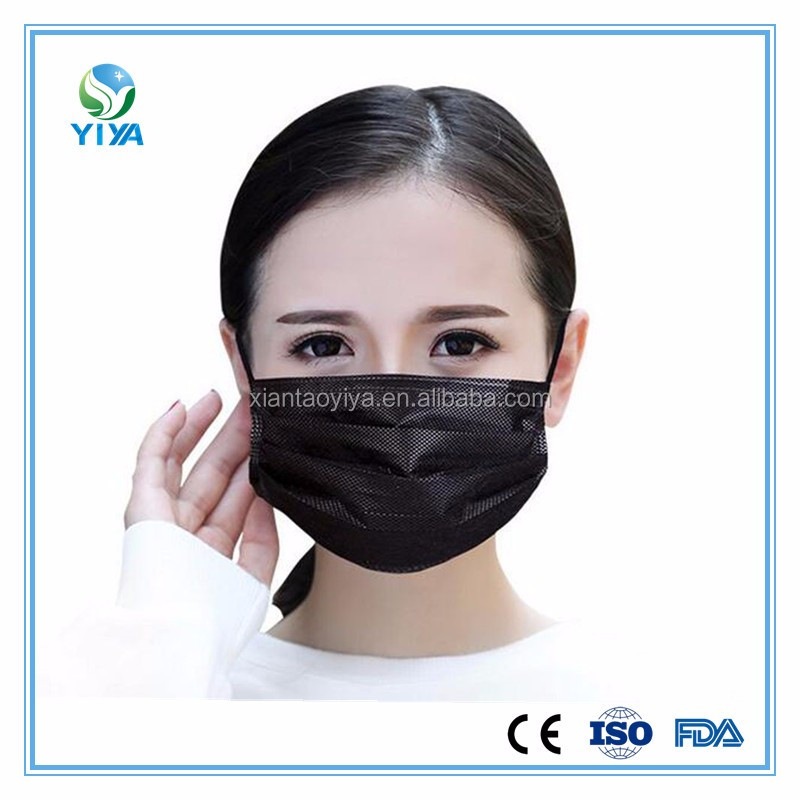 Black masks used for indutry for prevent dust and bad gas