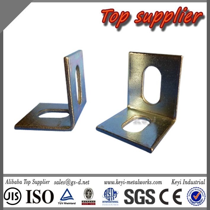 Sheet Metal Fabrication Steel Bracket Angle Bracket