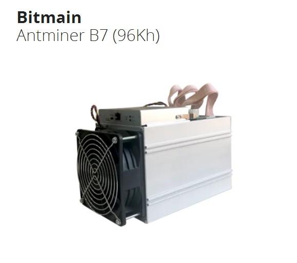 2019 New Arrival Bitmain Mining Tensority Algorithm 96kh/s 528w Antminer  Btm B7 Miner In Stock - Buy 2019 New Arrival Bitmain Mining Tensority