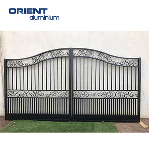 China manufacturer high quality cheap zinc gates and steel fence design