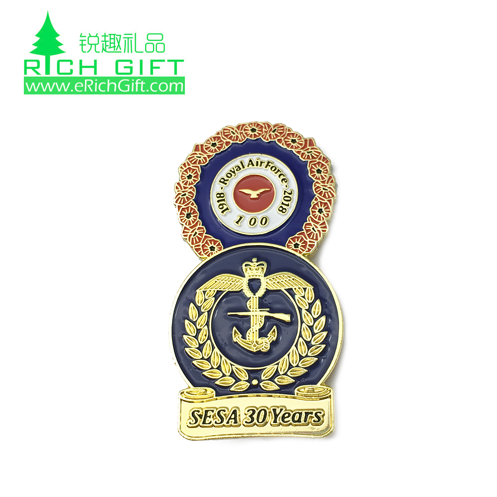 Factory Supply Brass Stamped Gold Plating Embossed 3d Soft Enamel Eagle  Logo Scout Lapel Pin Badge - Buy Eagle Lapel Pins,Scout Badge,3d Lapel Pins
