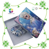500 Pieces Custom Cheap Art Paper Board High Quality Printing Paper Jigsaw Puzzles