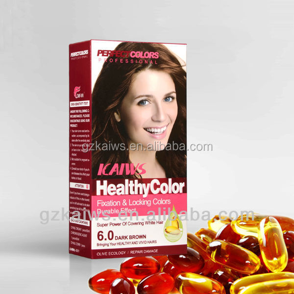 60ml*2 Professional Natural Hair Color Brand Name
