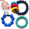 Safety beads bpa free silicone rubber lovely bracelets