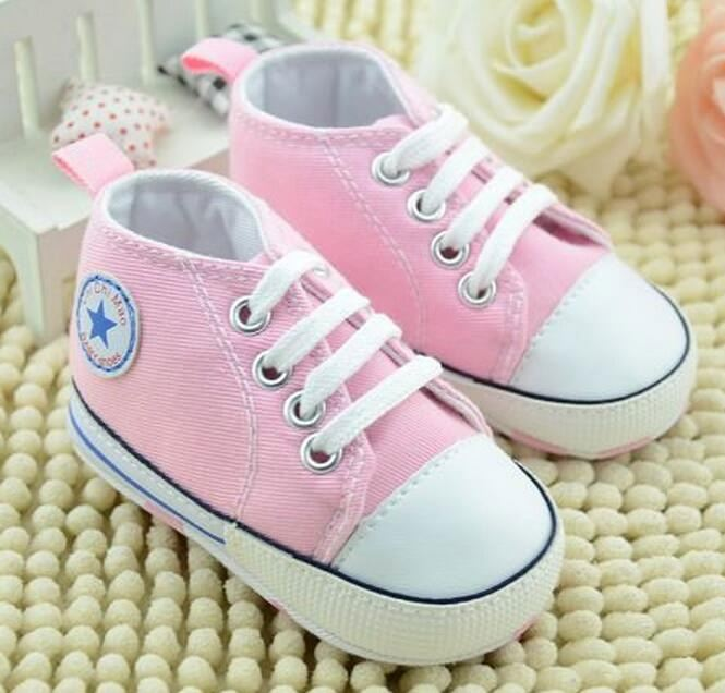 Newwest Baby Boy Girl Shoes Infants Toddlers canvas Casual Shoes Newborn Soft Bottom First Walkers Boots