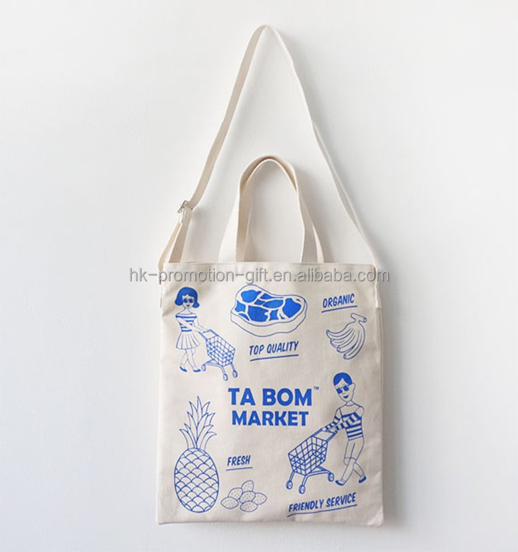 Wholesale Cotton Fabric Tote Bags With Double Handles,Cotton On ...