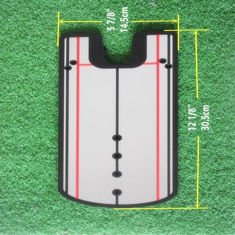 Golf Alignment Übungsspiegel mit Pouch Bag