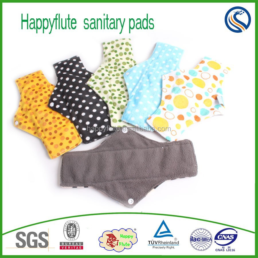 lady sanitary cloth napkins manufacturer menstrual pads recycled soft nursing pads