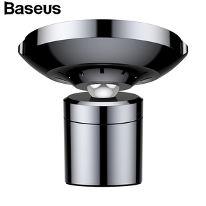 Baseus Mini  Wireless Car Charger Phone Holder With Air Vent Clamp Mount / Paste Type