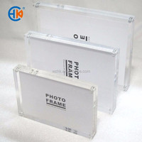 Wholesale acrylic 5x7 magnetic photo frame