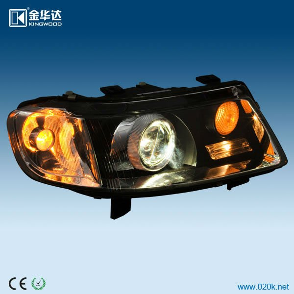 the hotest new HID all-in-one headlight hella 3 glass lens, all in one hid, angel eyes for VW Jetta