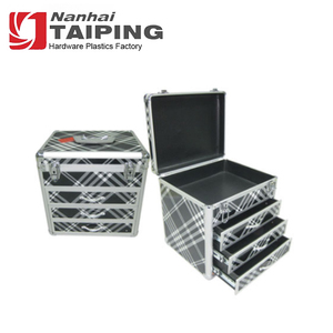 Plaid Tool Cabinet Drawer Tool Case Aluminium Tool Box with Drawers