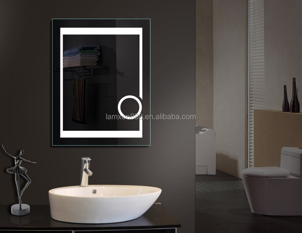 Lamxon Horizontal Led Light Backlit Bathroom Vanity Mirror