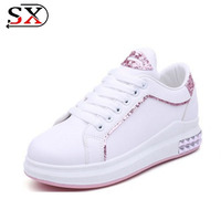 Hot Sale Women Sneakers Height Increasing Shoes Casual Platform Shoes
