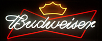 advertising sign/budweiser flex neon signs for sale