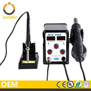 Desoldering Station Hot Air 898D Soldering Machine high quality multifunction professional hot air gun soldering iron station