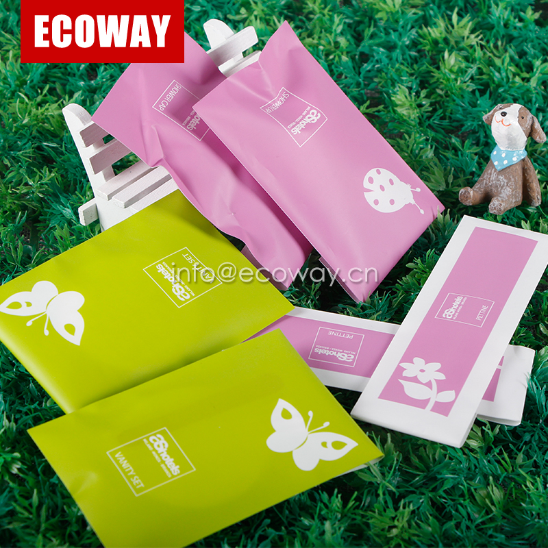 hotel amenities sachet disposable airline toilet amenities