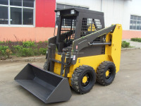 China Brand New 500KG Load 0.25m3 Bucket Pilot Control Skid Steer Loader