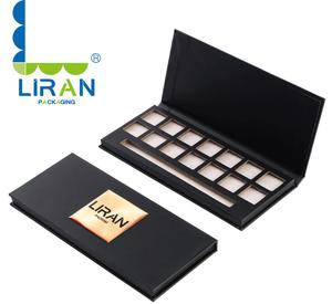 High Quality 10 Colors stock OEM Customize Private Label eyeshadow palette packaging