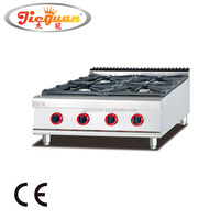Counter Top Stainless Steel Gas Ranges with 6 burner GH-987-1