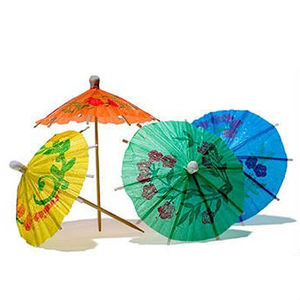 Biodegradable Cocktail Decorative Drink Umbrella Picks