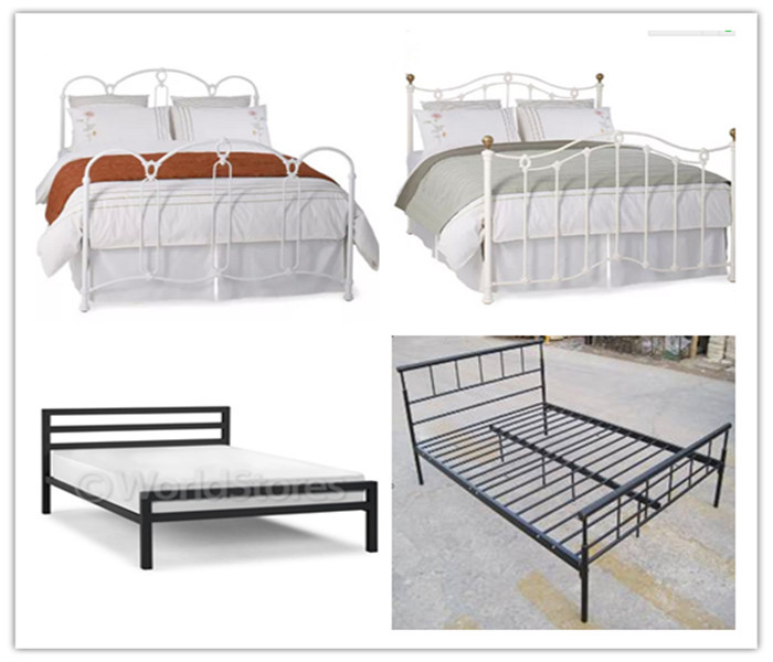 Wholesale Chinese Heavy Duty Steel Easy Assembly Metal Double Bunk ...