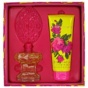 Betsey Johnson By Betsey Johnson Gift Set -- 3.4 Oz Eau De Parfum Spray + 6.7 Oz Shower Gel For Women