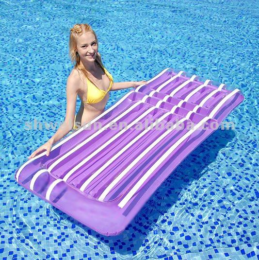 Inflatable Cool Stripe Air Float