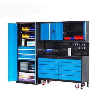 Ons Algemene Modulaire Garage Gereedschap Kast Opslag Systemen Met Kunststof Bakken En Laden Buy Garage Gereedschap Kast Opslag Systemenons