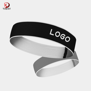 Amazon Hot Fashion Sport OEM Polyester Custom Elastic Headband 0df56b1c4c78
