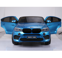 Good quality licensed BMW X6M suv car 12v electric car toy baby toys for sale