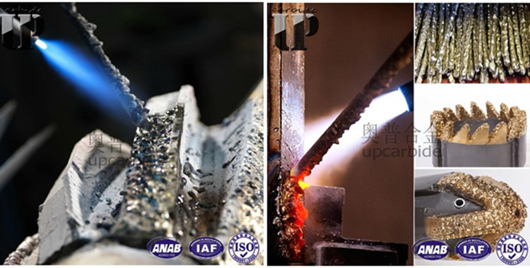 75% WC and copper YD tungsten carbide composite rod