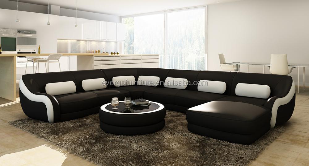 Modern Furniture Living Room 2015 On Evergo 2015 New Modern Leather Corner Living Room Sofa Set Furniture Leather Corner Living Room Sofa Set Furniture