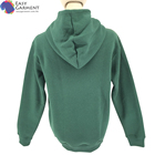Cheap Hoodie French Terry Hoodies Custom Made Cheap Full Print 290g Green French Terry Breastfeeding Pullover Hoodie With Custom Desgin