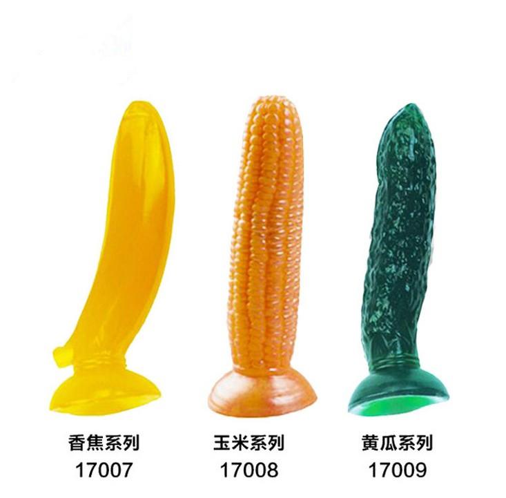 Corn as a dildo