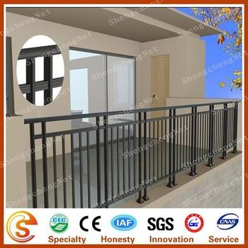 Balcony Guardrail Fence Design Galvanized Supply Sample Free Factory