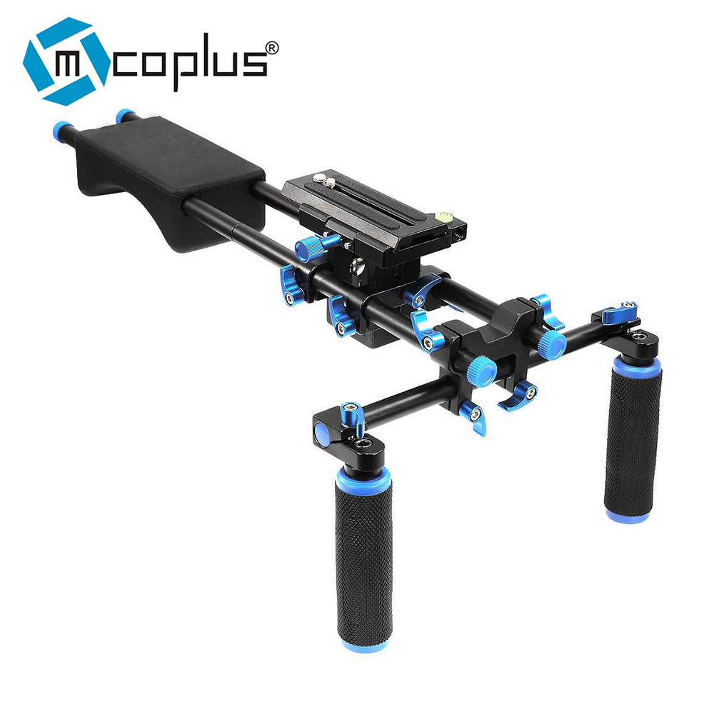Mcoplus DSLR camera Shoulder Rig 102F-01 for Canon DSLR 650D 700D 60D 7D Nikon D800 5D2