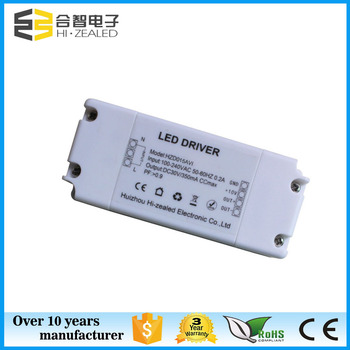 Led Panel Driver 5w 15w 100-265ac 15-36vdc Dimmable Power Led ...