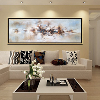 Furniture Decorative art picture with frame canvas abstract Oil Painting PSB-001