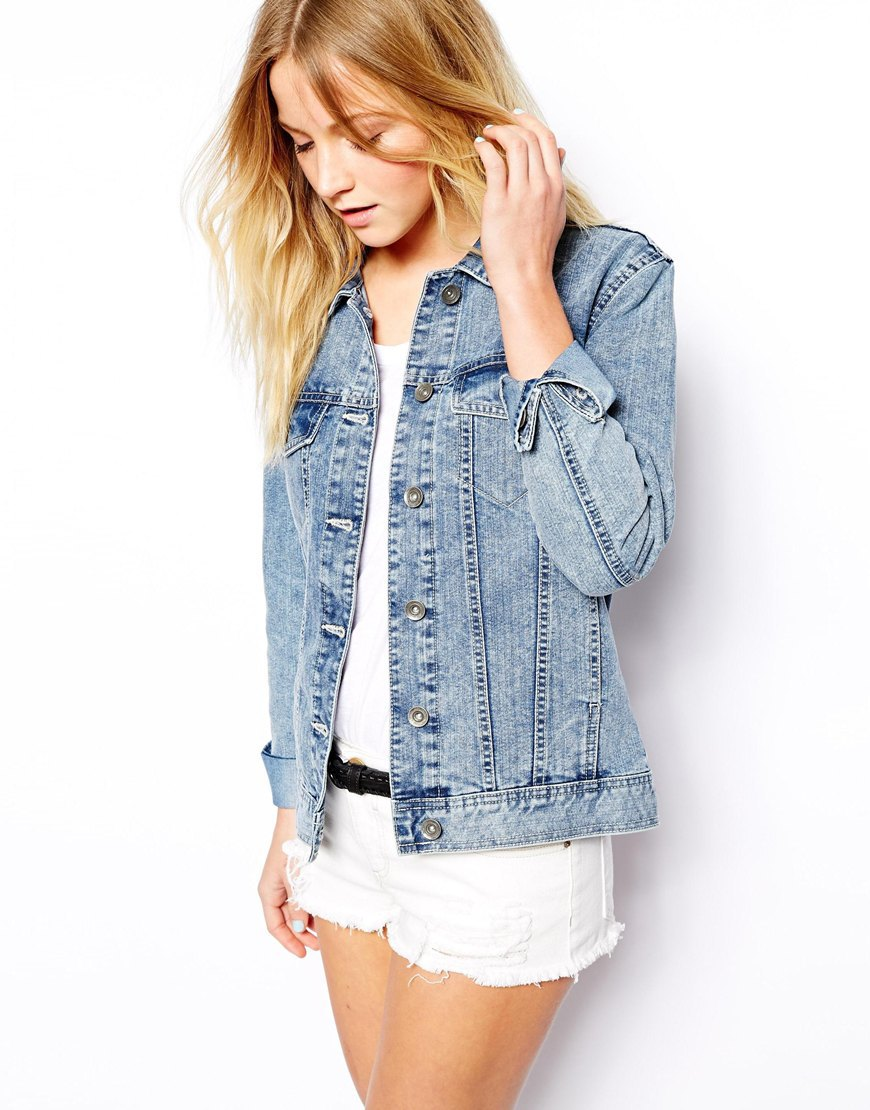 High Fashion Denim Jacket,Alibaba China Supplier Women Wear ...