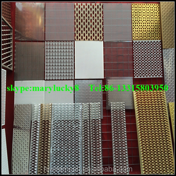 decorative metal aluminum perforated sheetsaluminum perforated metal sheet - Decorative Metal Sheets