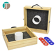 Classic sport wooden washer toss game set