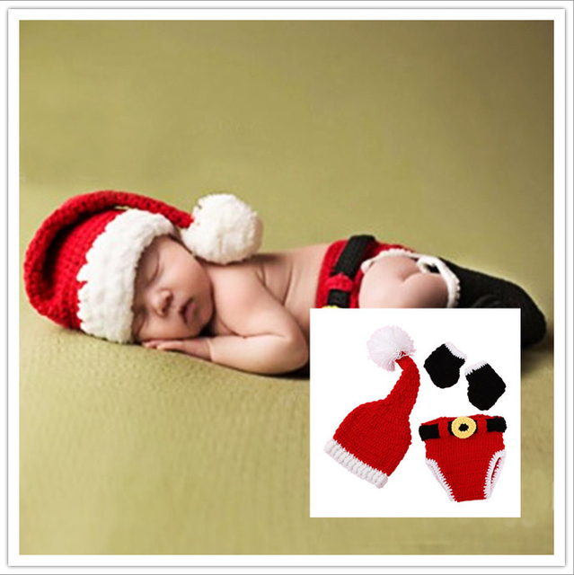 78264b4a6 Baby Christmas Costume Suits Set 3 Pieces Cute for 0-12 Month Newborn Stock  Cap