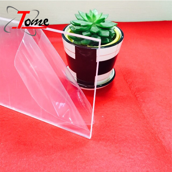 Pure different thickness pmma plexi glass transparent perspex extruded clear cast acrylic <strong>sheet</strong>