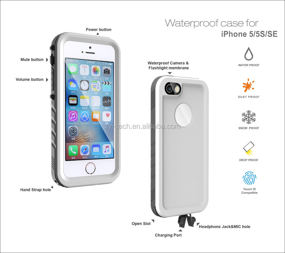 new acc4s cheap and fine waterproof environmental Shockproof Hard wooden Case for iPhone 5 5s SE
