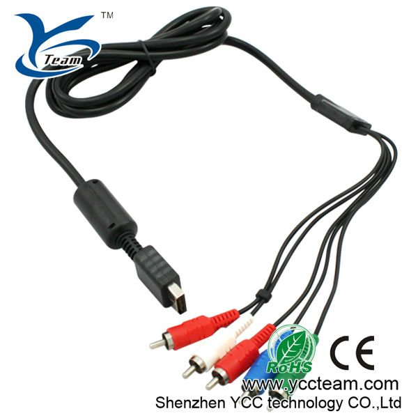 Factory Price for AV Cable for Playstation2 Playstation3