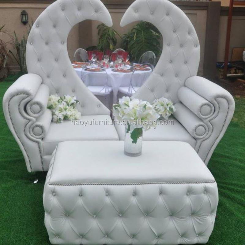 Wf01 Wedding Sofa Bride And Groom White Wedding Sofa Set